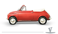 Cabrio Convertible Fiat500 holiday - Vernagallo